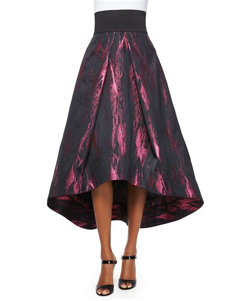 Kaos Band Indo Merpati All Color lyst milly high low tucked skirt in purple