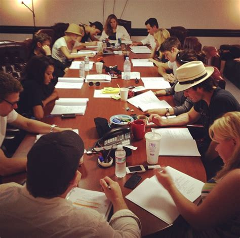 Table Read table read for season 4 the diaries photo 31418076 fanpop