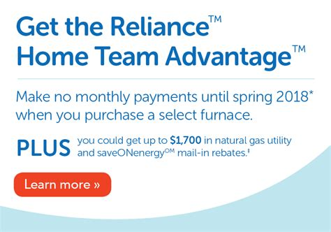 reliance comfort durham air conditioner furnace services reliance