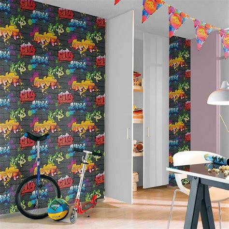 graffiti wallpaper rolls black graffiti wallpaper rolls rasch 237801 new room decor