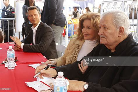 bill hayes and backup dancers deidre hall molly burnett days of our lives quot universal city fan event quot getty images