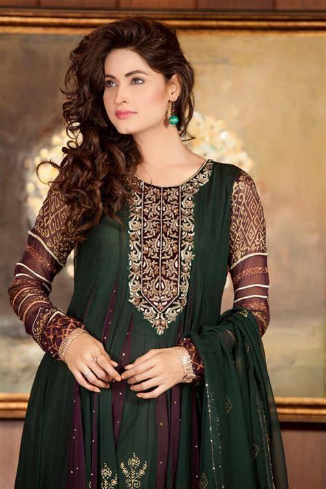 green color dress exclusive boutique