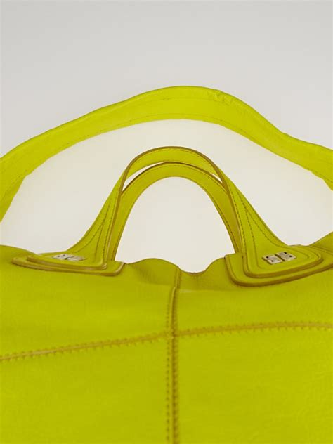 Bright Totes By Zagliani At Matches by Givenchy Bright Yellow Goat Leather South