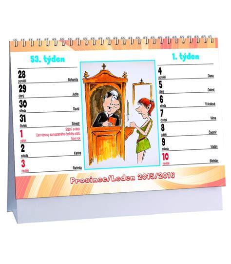 Table Calendar 2016 Table Calendar Lechtiv 233 Vtipy 2016