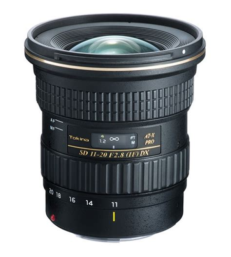 tokina for nikon at x 11 20mm f 2 8 pro dx lens
