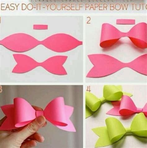 How To Make A Bow Out Of Tissue Paper - decoration bow out of tissue paper trusper