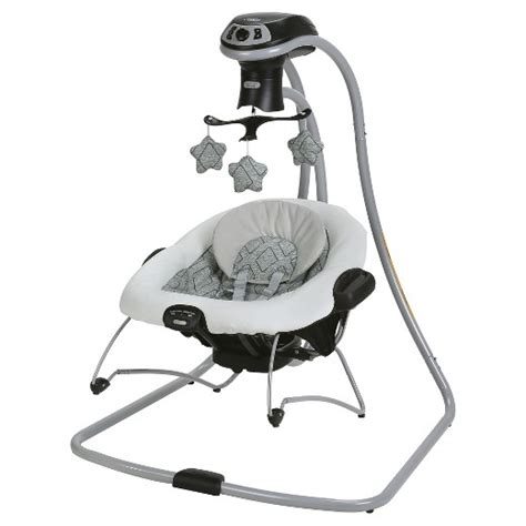 graco side swing graco 174 duetconnect 174 lx with multi direction baby swing
