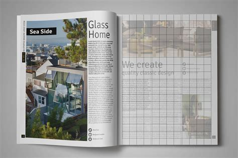 magazine grid layout templates grid 12 multipurpose magazine layout magazine templates