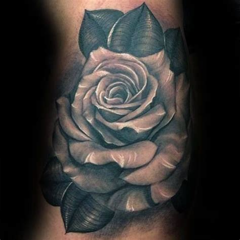 mens rose tattoos designs 90 realistic designs for floral ink