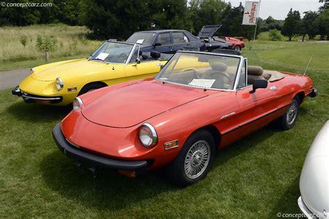 1980 Alfa Romeo 1980 alfa romeo spider veloce pictures history value
