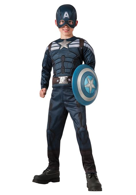 2 in 1 reversible captain america winter soldier costume