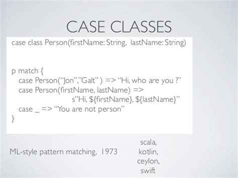 pattern matching kotlin jdays lviv 2014 java8 vs scala difference points