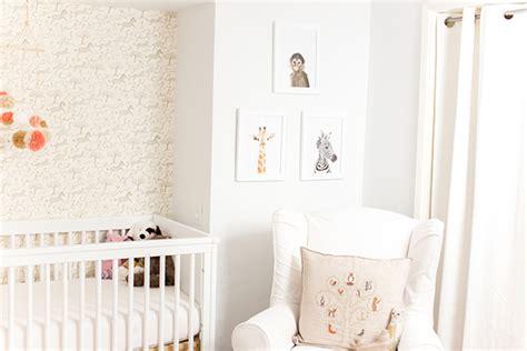 Pottery Barn Kids Crib Mobile Home Makeover A Safari Chic Nursery Lauren Conrad