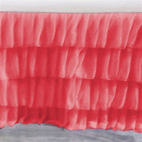 coral bed skirt coral bed skirt 100 images bedroom bed skirts