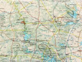 map of hill country national geographic mapscompany