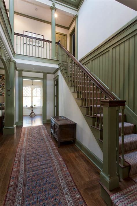 staircase victorian guest cottage hgtv