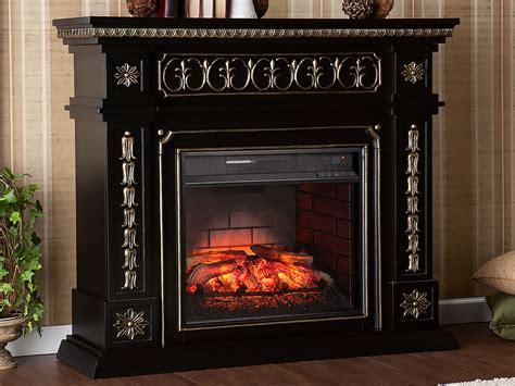 Black Electric Fireplace Mantel Donovan Infrared Electric Fireplace Mantel Package In