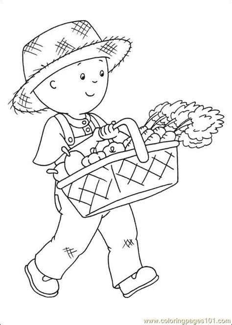 caillou coloring pages pdf coloring pages caillou coloring pages 014 cartoons
