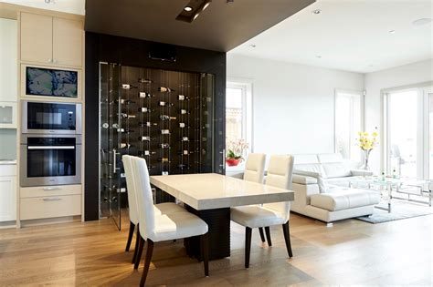 Modern Cable Floating WINE RACKS **Wow Guests** in