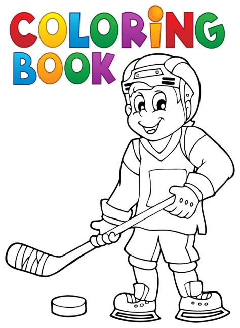 canadian hockey coloring pages hockey coloring page kidspressmagazine com