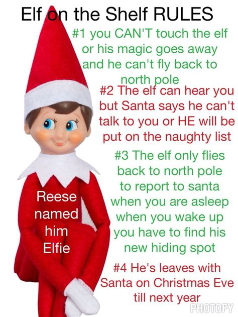 printable elf on the shelf rules 17 best images about elf on pinterest elf in the shelf
