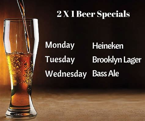Hells Kitchen Happy Hour by 2 For 1 Specials At Quinn S Murphguide Nyc Bar Guide