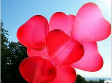 Free picture: red hearts, balloons Light Pink Hearts