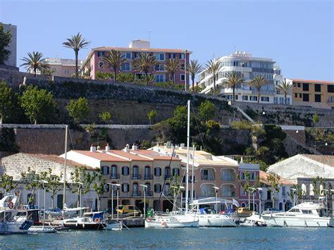 mahon minorca sail to menorca and the great city of mahon