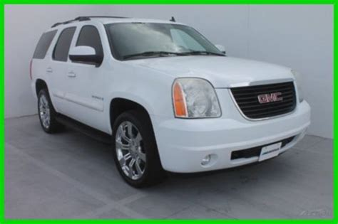 how to fix cars 2008 gmc yukon navigation system buy used 2008 gmc yukon slt 101k miles navigation 3rd row rear dvd 1owner clean carfax in