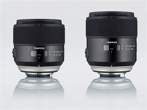 Tamron 35mm tamron 35mm 45mm f 1 8 prime lenses review better than