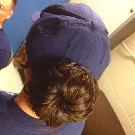 military bun hair style my military bun using a sock bun you can get sponge like