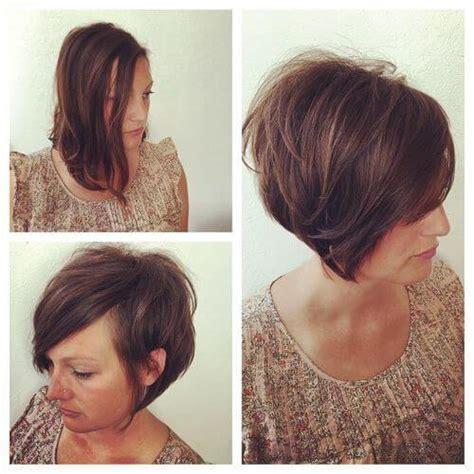corte bob corto una excelente 35 peinados de capas cortas para con cabello fino