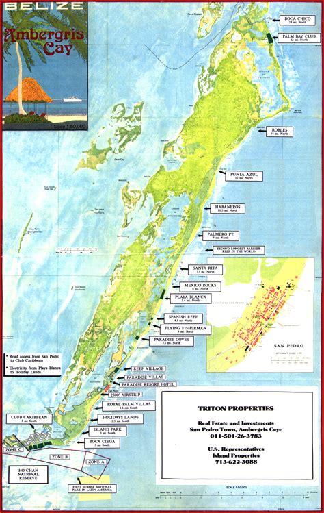 tourist map of belize ambergris caye tourist map ambergris caye belize mappery