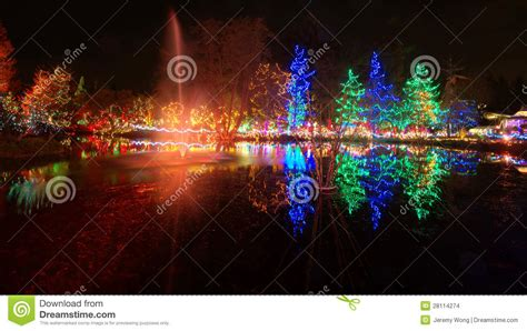 christmas lights celebration stock images image 28114274
