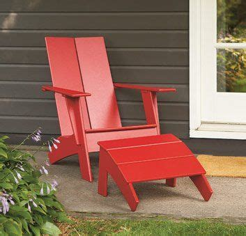 modern adirondack chair plan plans