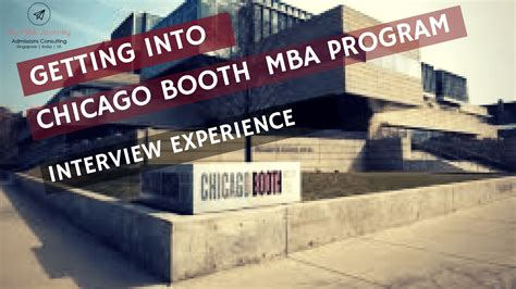 Mba Schools Returning Work Experience by Chicago Booth School Of Business Cus Visit And