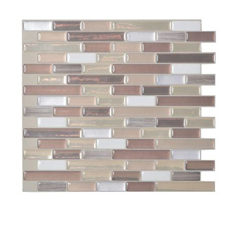 Kitchen Backsplash Peel And Stick Tiles Backsplashes Countertops Backsplashes The Home Depot