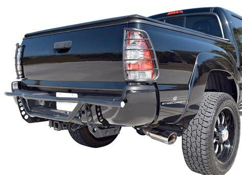 Bumper Guard steelcraft evo33090 evo3 rear bumper guard for tacoma new ebay