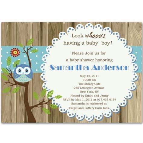 Unique Baby Shower Invites Boy by Fabulous And Unique Baby Boy Shower Invitation Bs237