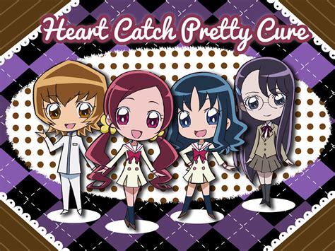Yosihiko Polkadot hanasaki tsubomi kurumi erika myoudouin itsuki and tsukikage yuri heartcatch precure and