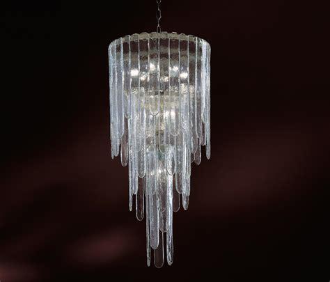 mazzega illuminazione cascata sospensione ladari da soffitto a v mazzega