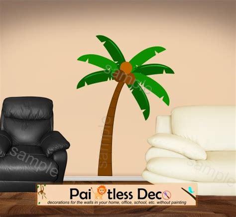 Palm Tree Wall Sticker reusable palm tree wall decal reusable tropical palm tree