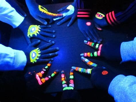 glow in the dark carnival tattoo 17 best images about cirque excentrique look on pinterest