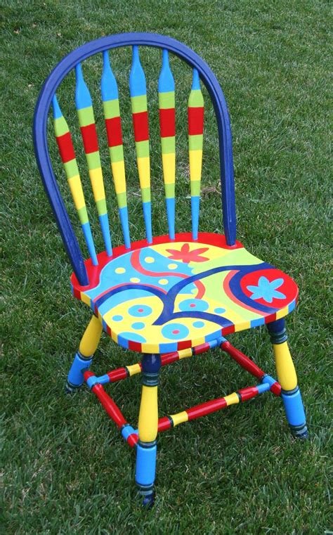 Folk Art Home Decor Chalk Paint 25 Best Ideas About Painting Kitchen Chairs On Pinterest