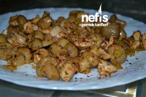 mantarli tavuk sote lezzet tanesi yemek tarifleri mantarli tavuk sote3 fotoğrafı nefis yemek tarifleri