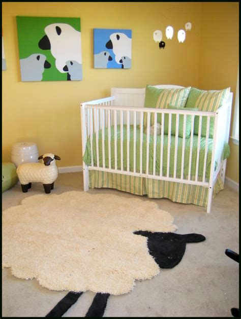 Crib Counting by Counting Sheep Nursery Modern Atlanta By