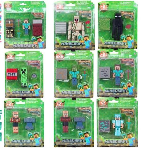 Pajangan Figure Minecraft Mini Figur Minifigures Seri 3 minecraft toys series 4 www pixshark images galleries with a bite
