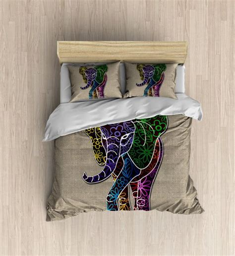 burlap bedding sets best 25 elephant bedding ideas only on
