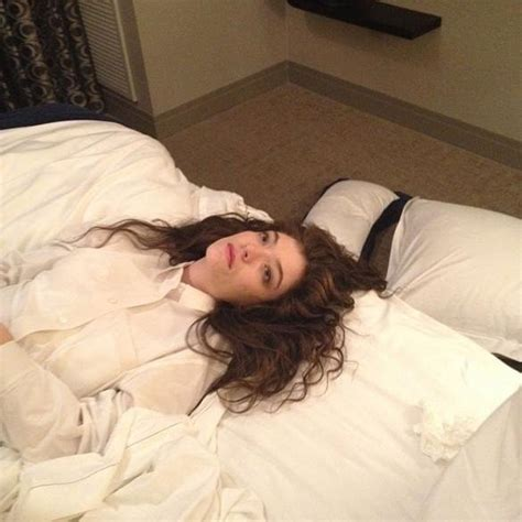 tucked in bed ill exhausted zombie lorde shares photo of herself