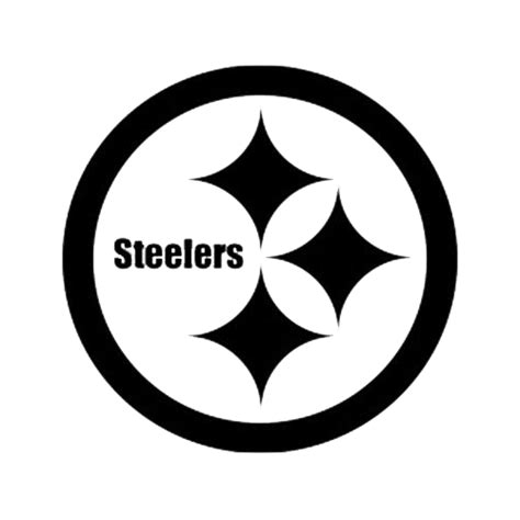pittsburgh steelers logo google search silhouette steelers logo black and white